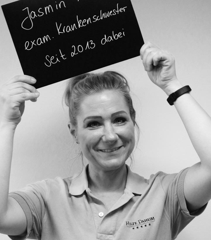 Seit 5 Jahren bei Hilfe Daheim: Jasmin. Foto: A.Gatz