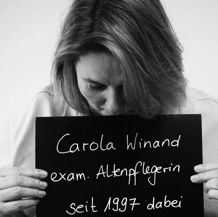 Mittlerweile seit 21 Jahren bei Hilfe Daheim: Carola. Foto: A. Gatz