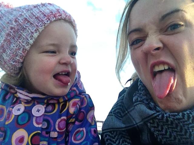 Wie die Mutter, so die Tochter: Lotta und Antje. Foto: A. Knötzel