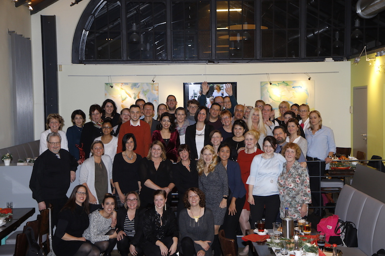 Das beste Team der Welt: die Hilfe Daheim Pflegehelden (fast) vollständig! Foto: Hilfe Daheim
