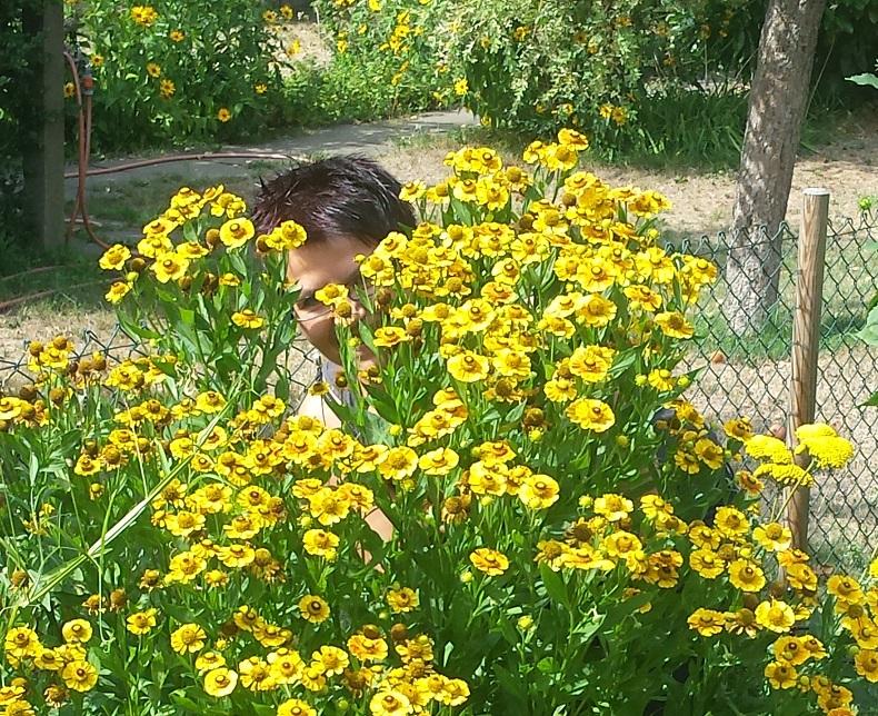 Der grüne Daumen: Entspannung bei der Gartenarbeit.