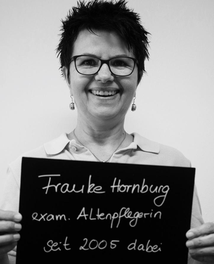 Seit 2005 ist Frauke nun schon bei Hilfe Daheim. Foto: A. Gatz