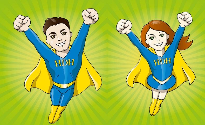 Die Hilfe Daheim Pflegehelden. Bild: Hilfe Daheim