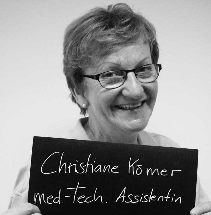 18 Jahre bei Hilfe Daheim: Christiane! Foto: A. Gatz