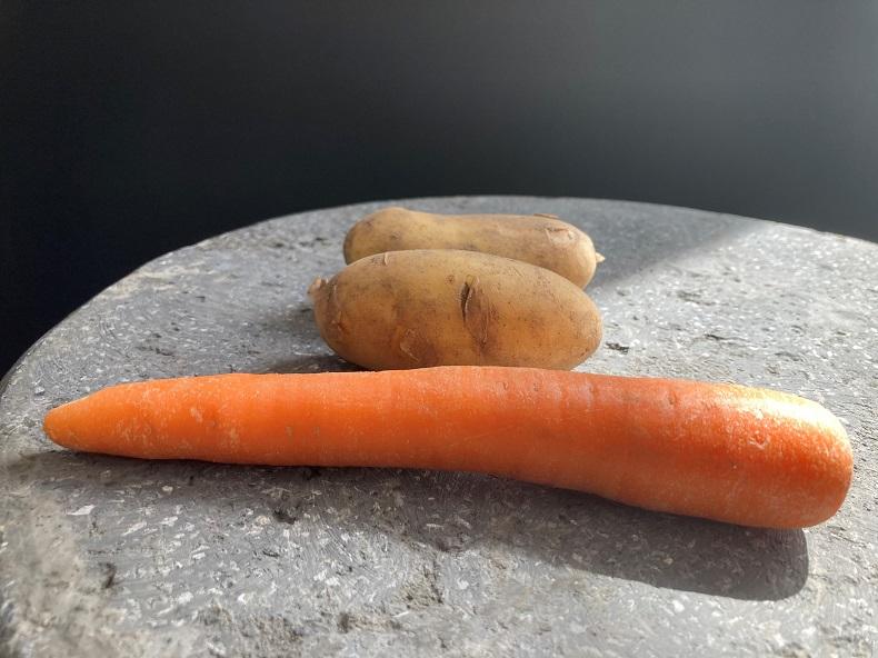 Man erntet, was man sät: Karotten oder Kartoffeln? Foto: N. Gatz
